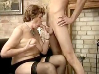 granny with juvenile dong by troc