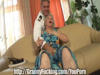 old grandma acquires drilled for her birthday