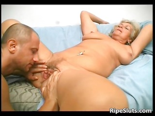 overrupe mature blonde doxy acquires her old