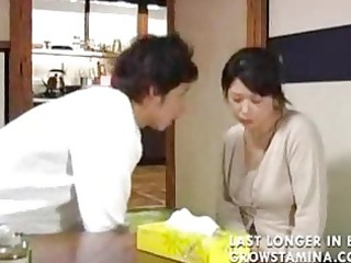 japanese the son decided to protect a his mamma