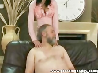 lascivious old chap fucks the trophy wife