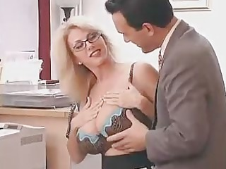large titted mamma with her boss...f108