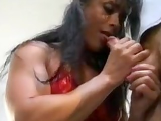 bodybuilding aged woman anal
