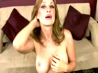 cougar mama takes her time to receive stripped