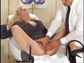 blond elizabeth dime acquires examined and then