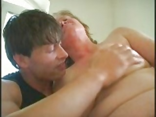 old granny receives a cum-hole full