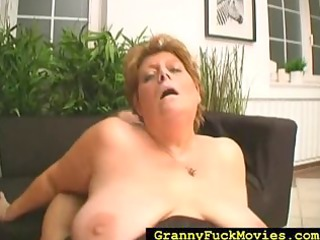 corpulent granny slut is fucking the neigbor