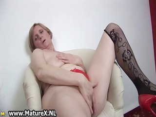 concupiscent old mamma is penetrating part9
