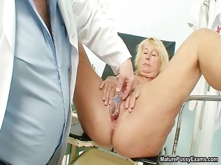lustful old doctor injects a speculum part8