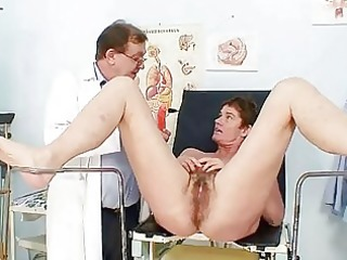 mother i hairy bawdy cleft gyno scrutiny in